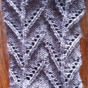 cornstalk socks stitch pattern